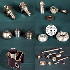 Precision machined engine components