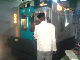 VMC for Die Manufacturing