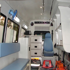 FRP Ambulance Interior