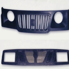 FRP Front grills