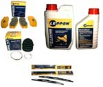 Leppon car care products include brake fluid, coolants, car-washing products, shampoo and CV grease.