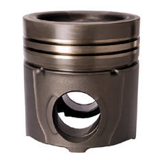 Engine alloy pistons