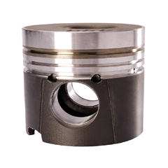 Pistons for light commercial vehicle engines