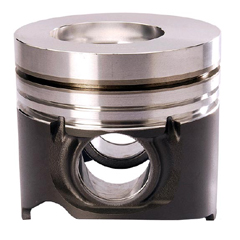 Tractor engine pistons