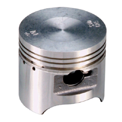 Pistons for motorcycle engines