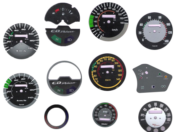 Two Wheelers Cluster Dials