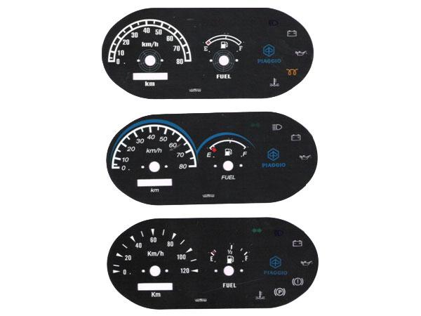 Three Wheelers Speedometer Dials