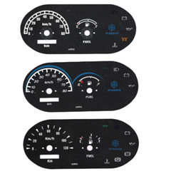 Three Wheelers Speedometer Dials