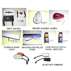 Bus Lights Parts & Rear View Mirrors
