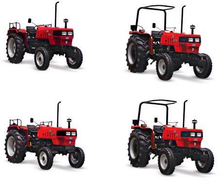 Euro Short Wheelbase Farm Tractors