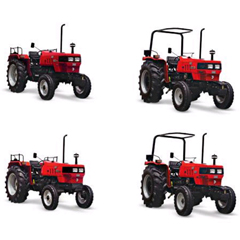 Euro Short Wheelbase Farm Tractors